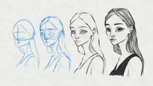 Cómo dibujar Retratos estilo Cartoon